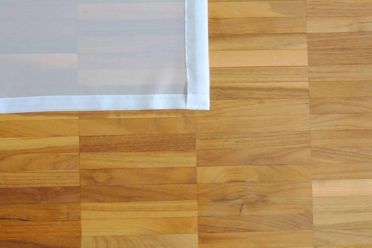 Großartig Flächenvorhang transparent [weiss, 60cm/80cm/120cm breit  RI52