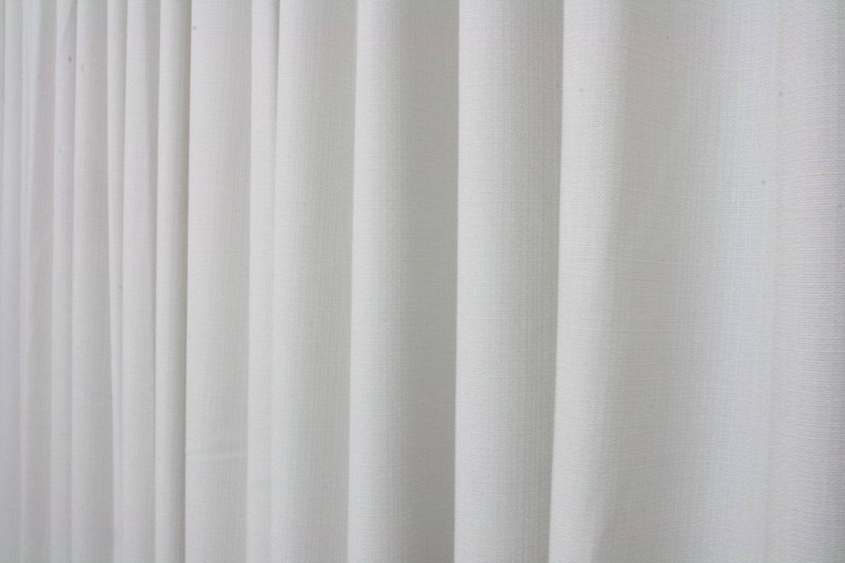 Nachtvorhang Blickdicht Lichtdurchlässig Weiss Matt Und