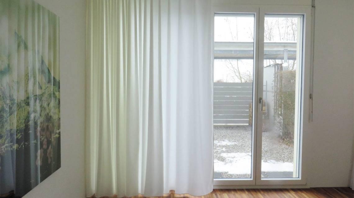 online kaufen nachtvorhang blickdicht lichtdurchl ssig weiss leichter glanz feingewoben. Black Bedroom Furniture Sets. Home Design Ideas