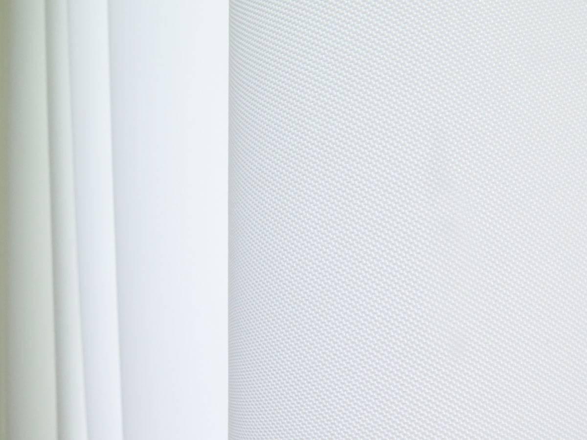 wohnzimmer einrichten nachtvorhang blickdicht lichtdurchl ssig weiss leichter glanz. Black Bedroom Furniture Sets. Home Design Ideas