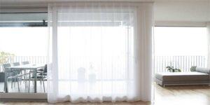 Vorhang-Höhe und -Breite richtig messen (Tagesvorhänge und Nachtvorhänge)